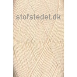 Sock 4 strømpegarn i Off-white | Hjertegarn-20