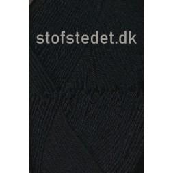 Sock 4 strømpegarn i Sort | Hjertegarn-20