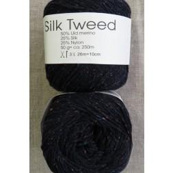 Garn Silk Tweed fra Hjertegarn i mørkeblå-20