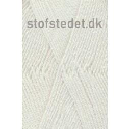 Trunte 100% Merino uld/Superwash Knækket hvid-20