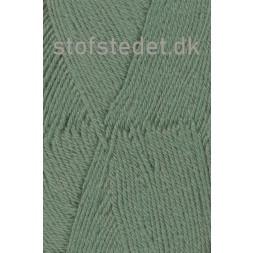 Trunte 100% Merino uld/Superwash Støvet grøn-20