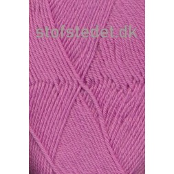 Trunte 100% Merino uld/Superwash i mørk rosa-20