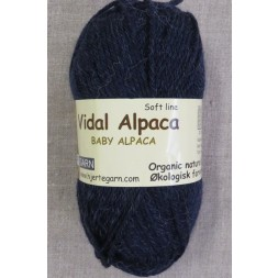 Vidal Alpaca/ Superwash Baby Alpaca i Mørkeblå-20
