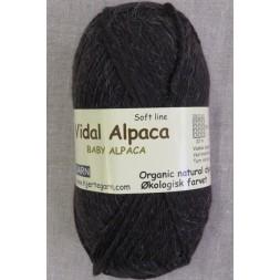 Vidal Alpaca/ Superwash Baby Alpaca i Mørke brun-20