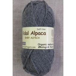Vidal Alpaca/ Superwash Baby Alpaca i Grå-20
