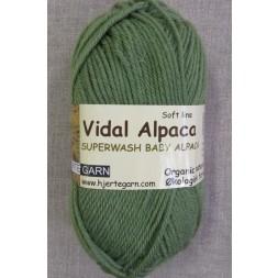 Vidal Alpaca/ Superwash Baby Alpaca i Grøn-20