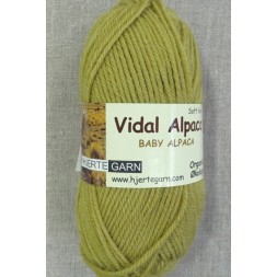 Vidal Alpaca/ Superwash Baby Alpaca i Lys lime-20