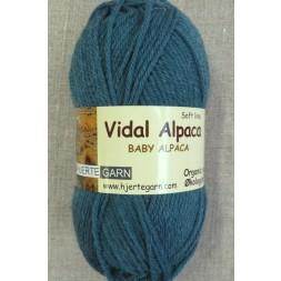 Vidal Alpaca/ Superwash Baby Alpaca i Petrol-grøn-20