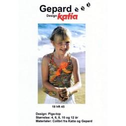 Gepard mønster Pige-top-20