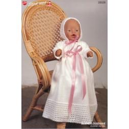 20028 Dukketøj Babyborn Dåbskjole og kyse-20