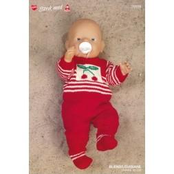20029 Dukketøj Babyborn stribet sæt med bær-20