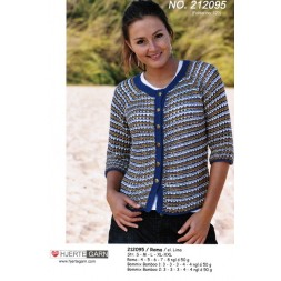 212095 Cardigan i Roma and Bommix Bamboo-20