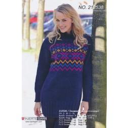 212538 Sweater m/mønster-20