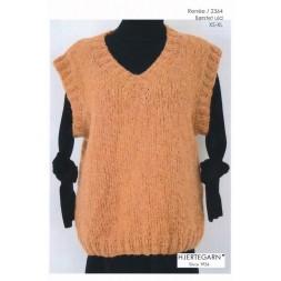 2364 Renée Vest i Børstet uld | Hjertegarn-20