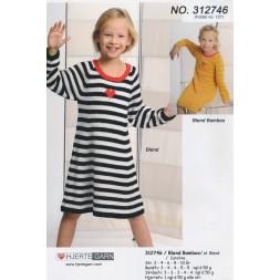 312746 Stribet kjole-20