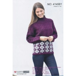 414581 Sweater m/harlekintern-20