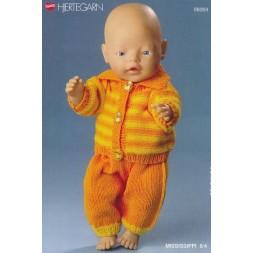 98069 Dukketøj Babyborn bukser og stribet bluse-20