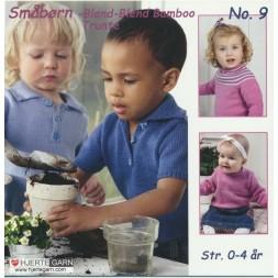 Hæfte baby/småbørn no. 9 Blend Bamboo/Trunte-20
