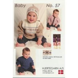 Hæfte Baby no. 57 Merino 150-20
