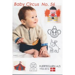 Hæfte Baby no. 56 Cirkus Blend/Extrafine Merino 150-20