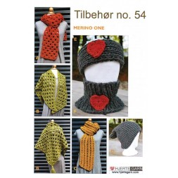 Tilbehør no. 54 Tørklæde/sjal/hue i Merino One-20