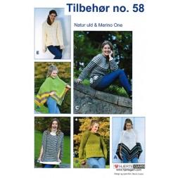 Tilbehør no. 58 Poncho/Sweater-20