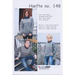 Hæfte 148 Sweater Børn/Herre/Dame-20