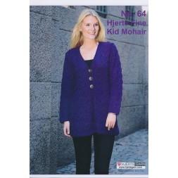Tilbehør no. 64 Hjerte Fine/Kid Mohair 2 modeller-20