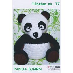 Tilbehør no. 77 Panda bjørn-20