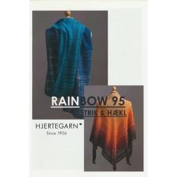Tilbehør no. 95 Hæklede og strikkede sjaler i Rainbow fra Hjertegarn-20