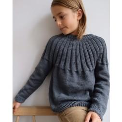 Haralds Sweater Junior PetiteKnit strikkeopskrift-20