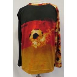 T-shirt med fodbold motiv Minikrea 50222-20