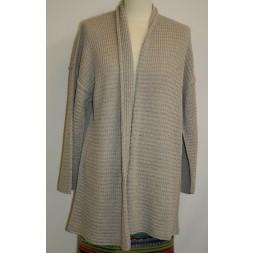 Løs jakke model Mimi strikket i Arezzo Lin-20