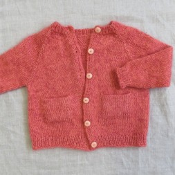 Ellens cardigan strikket i Trunte og Silk kid mohair-20