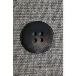 4-huls knap brun-meleret, 14 mm.-20