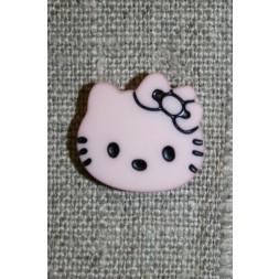 Knap Hello Kitty, babylyserød-20