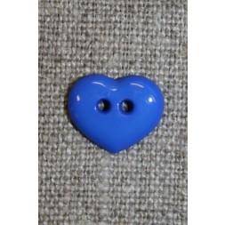 Hjerteknap 13 mm. koboltblå-20