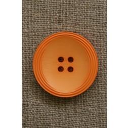 Orange 4-huls knap, 28 mm.-20