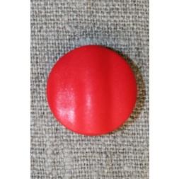 Rød rund knap, 20 mm.-20