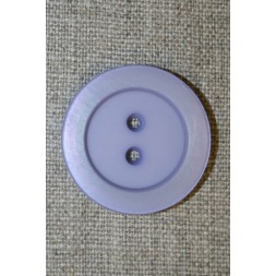 Lyselilla 2-huls knap, 30 mm.-20