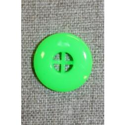 Neon knap grøn, 20 mm.-20