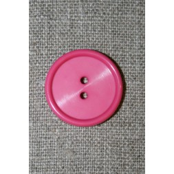 Pink 2-huls knap, 23 mm.-20