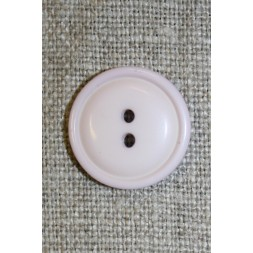 2-huls knap sart lyselilla, 18 mm.-20