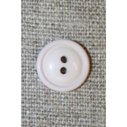 2-huls knap sart lyselilla, 11 mm.-20