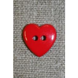 Hjerte knap postkasse-rød-20