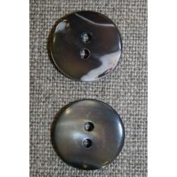 Perlemors-knap brun, 17 mm.-20