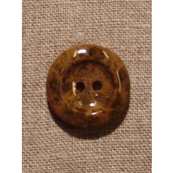 Camel/brun meleret knap-20