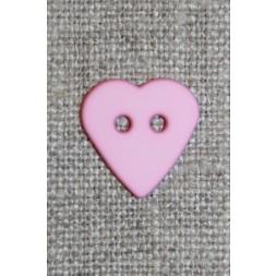 Mat Hjerte knap lyserød-20
