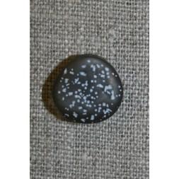 Knap i sten-look, koksgrå 15 mm-20