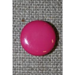 Rund knap 13 mm. pink-20